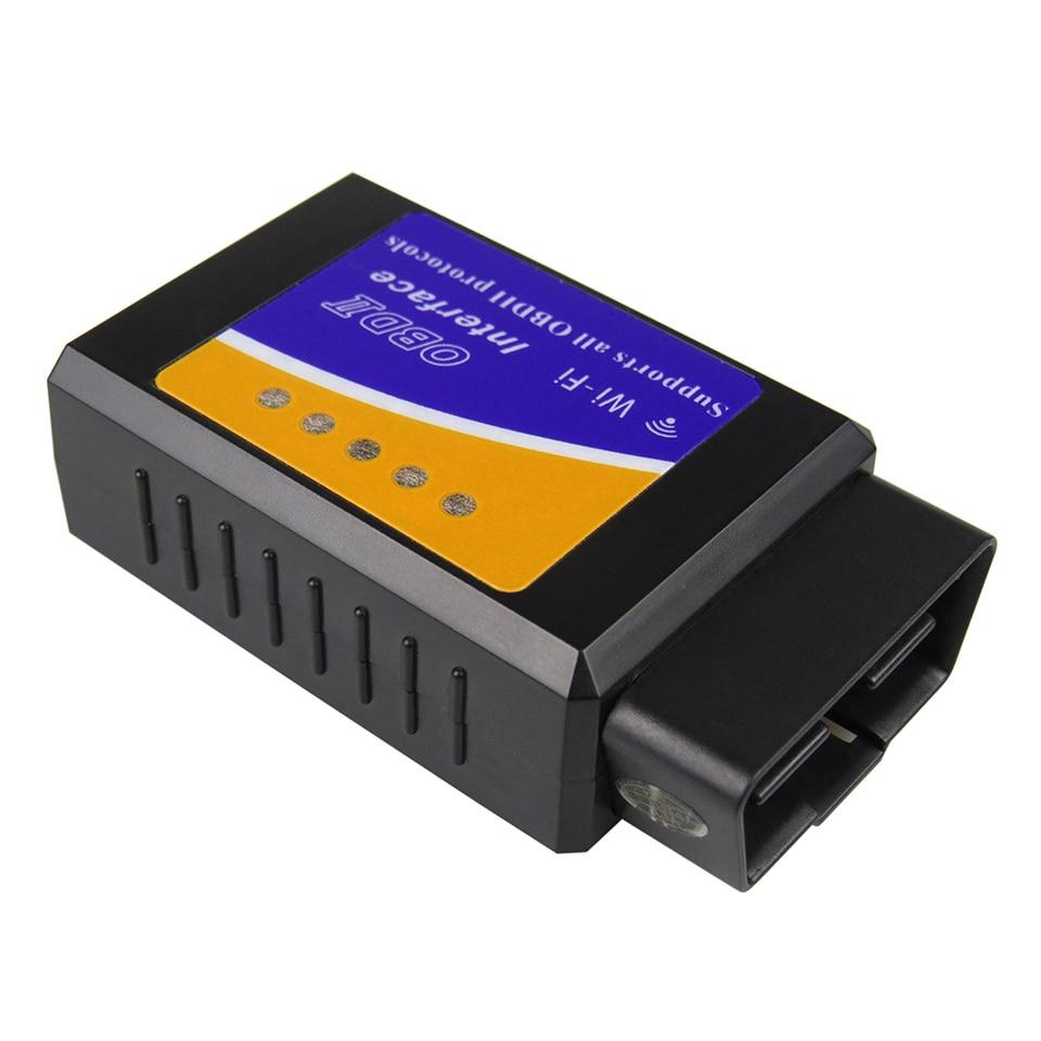 HTB1chgdjSfD8KJjSszhq6zIJFXao Super PIC18F25K80 ELM327 WIFI V1.5 OBD2 Car Diagnostic Scanner Best Elm327 WI-FI Mini ELM 327 V 1.5 OBDII iOS Diagnostic Tool