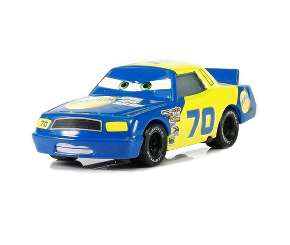 pixar cars 2 gasprin no 70 diecast metal classic toy cars for kids