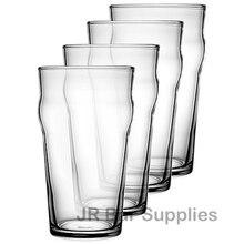 Бесплатная доставка, 4 шт., набор из 4 бокала для пива в британском стиле, 570 мл
