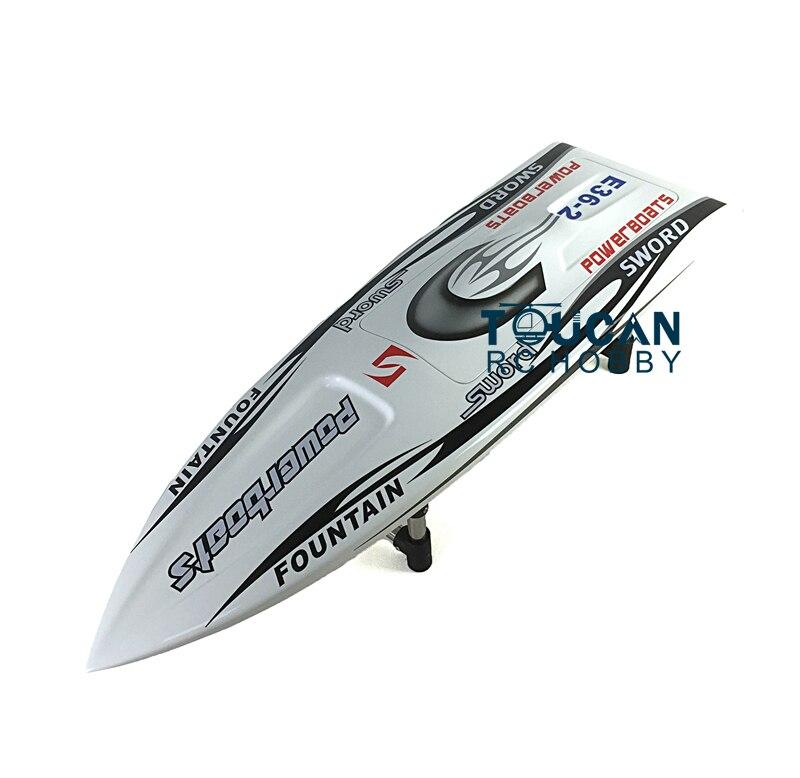 E36 комплект 30 электрический RC лодка хорошо окрашенная стекловолокно Monohull корпус лодки только для продвинутого игрока Белый TH02646 - 3