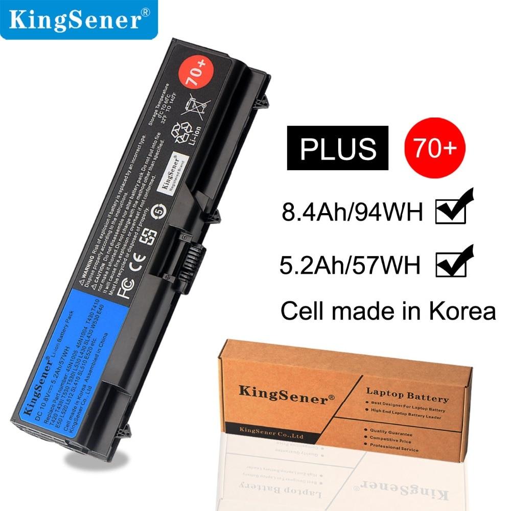 KingSener 10.8V 5200mAh Laptop Battery For Lenovo ThinkPad T430 T430I L430 T530 T530I L530 W530 45N1005 45N1004 45N1001 45N1000