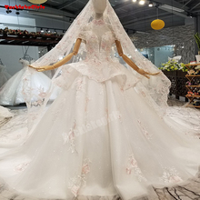 961211 Princess Style Long Sleeves Wedding Dresses Gowns