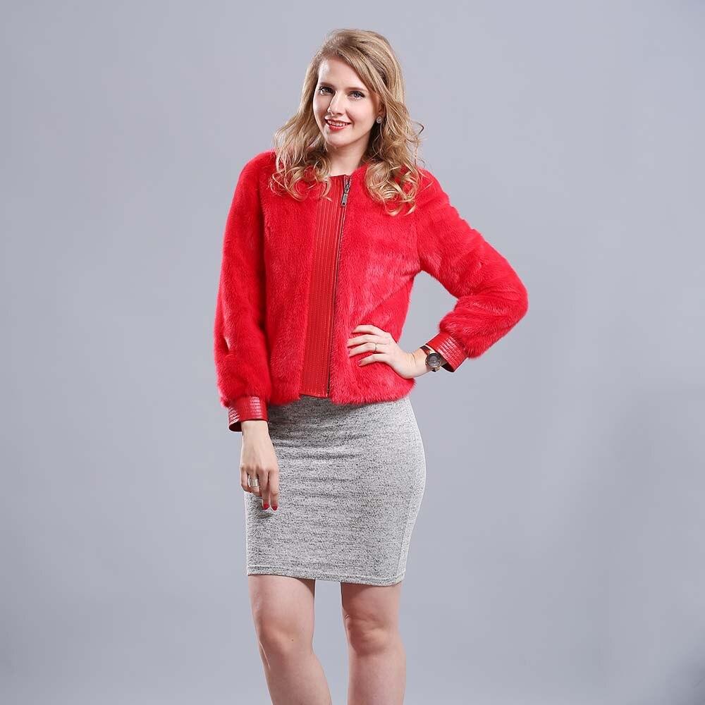 Red Mink Coat Promotion-Shop for Promotional Red Mink Coat on ...