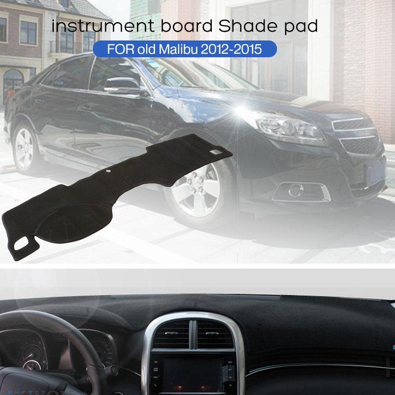 Vehemo Felt Fabric Motors Parts Dashboard Cover Left Driver'S Seat Sun Cover Pad Black Dashboard Mat Auto Interior Dash Parts