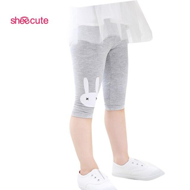 Children Girl leggings print flowers girls pants childrens trousers