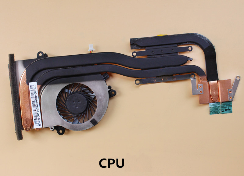 NEW for MSI GS70 2PE-026CN Stealth Pro cpu Fan Heatsink 0.55A 5VDC 3pin 100%genuine new laptop cpu cooling fan for msi gs70 ms 1771 paad06015sl 0 55a 5vdc n229