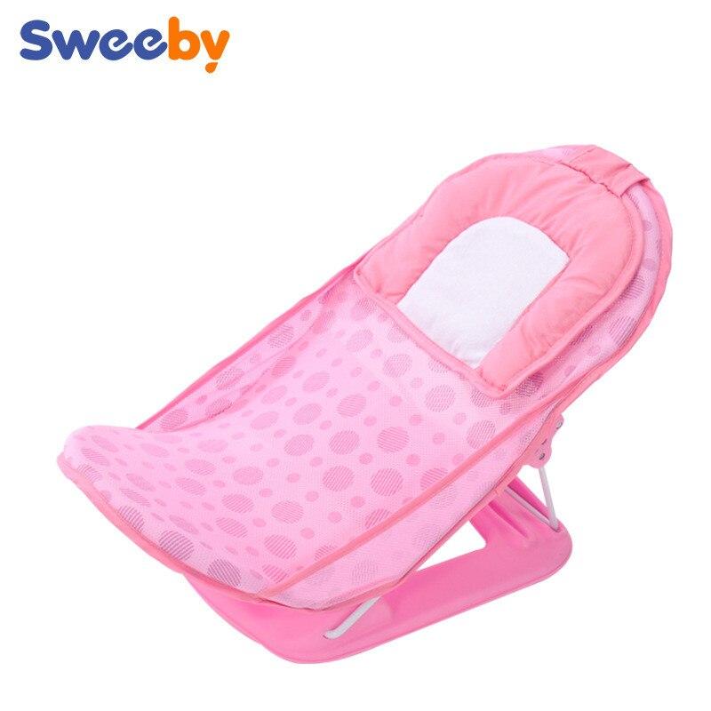 2017 new plastic folding baby bath seat bath chair bathtub for baby ...
