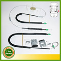 For VW Beetle 1999 2000 2001 2002 2003 2004 2005 2006 2007 2008 2009 2010 Window Regulator Repair Kit Front Left 1C0837655C