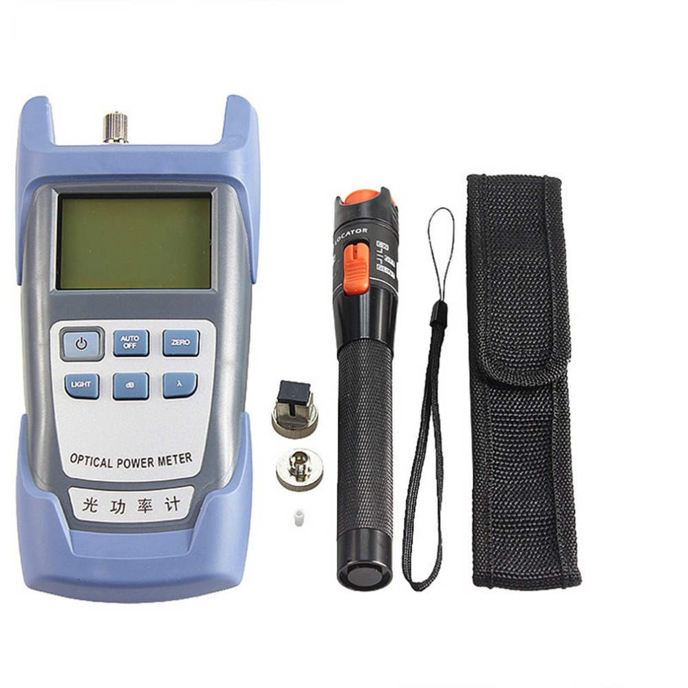 One Set FTTH Tool Kit SKL-60S Fiber Optic Power Meter Fiber Cleaver 10mW Fiber Tester Visual Fault Locator Stripperssale навигатор garmin etrex touch 25 gps глонасс russia черно синий