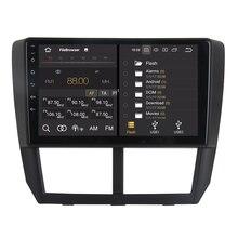 RoverOne Android 8,0 Автомобильная Мультимедийная система для Subaru Forester Impreza 2008-2012 Octa Core радио gps навигация медиаплеер