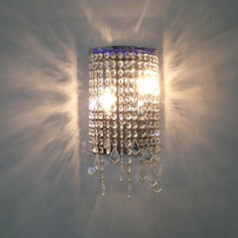 bathroom crystal wall fixtures modern crystal wall light mirror lights contemporary led wall lamp makeup wall sconce for bedroom modern led bathroom light stainless steel led mirror lamp dresser cabinet waterproof sconce indoor home wall lighting fixtures