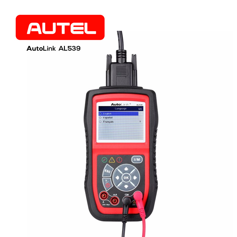 Autel AutoLink AL539 OBD2 CAN Auto Code Reader Scanner Tool Car Diagnostic Tools Universal Professional for Vehicle Diagnosis