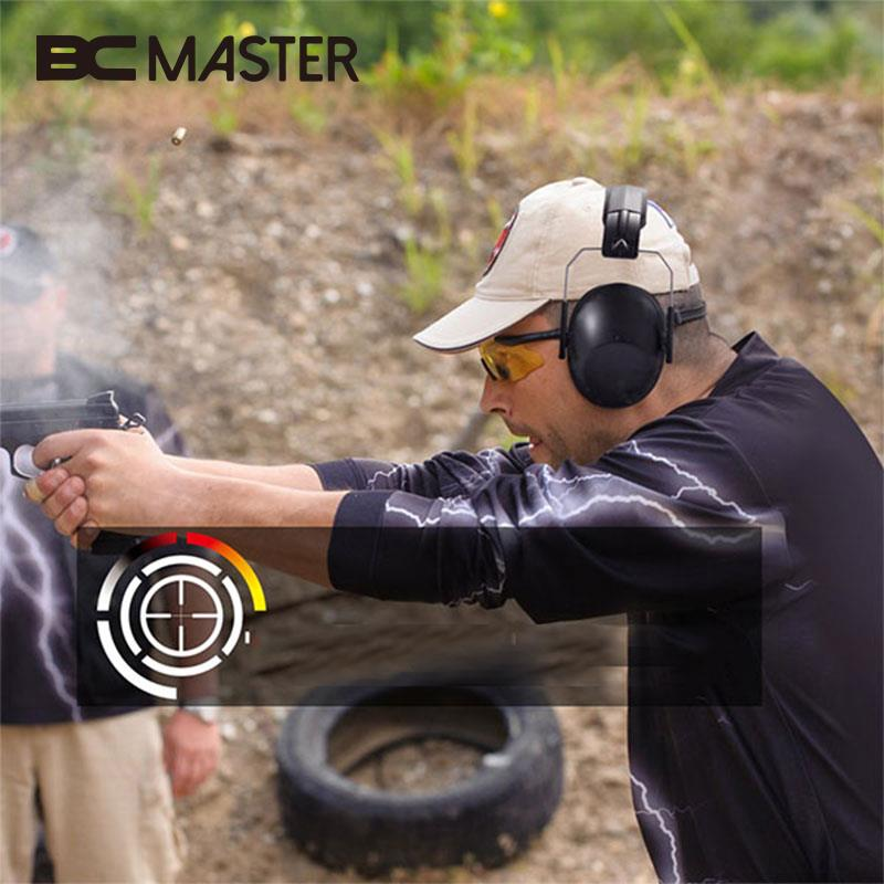BCMaster Outdoor Shooting Hunting Hearing Protection Ear Protector Soundproof Earmuff Anti-Noise Earmuff