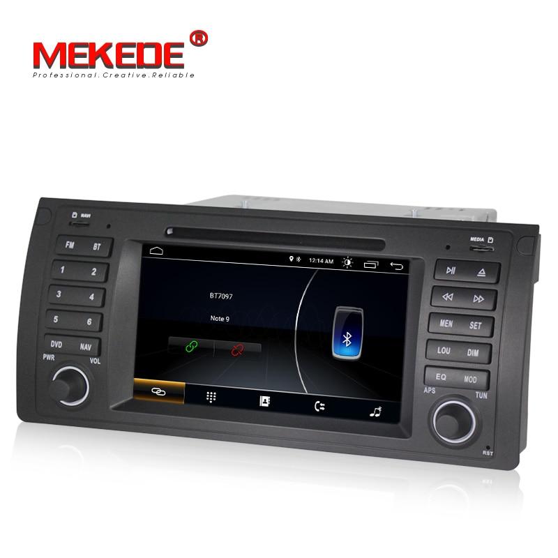 Lecteur DVD de navigation GPS de voiture MEKEDE Quad Core Android 8.1 pour BMW E39 E53 X5 M5 avec wifi BT autoradio livraison gratuite - 5