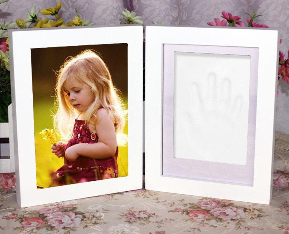 Neue Nette 3D DIY Baby bilderrahmen handabdruck footprint Impressum ...