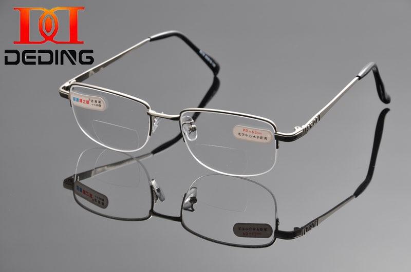 2015 DEDING Hot Sale Kacamata Bifocal Reading Berkualiti Tinggi Anti-keletihan Kacamata Presbyopik oculos de leitura DD1044
