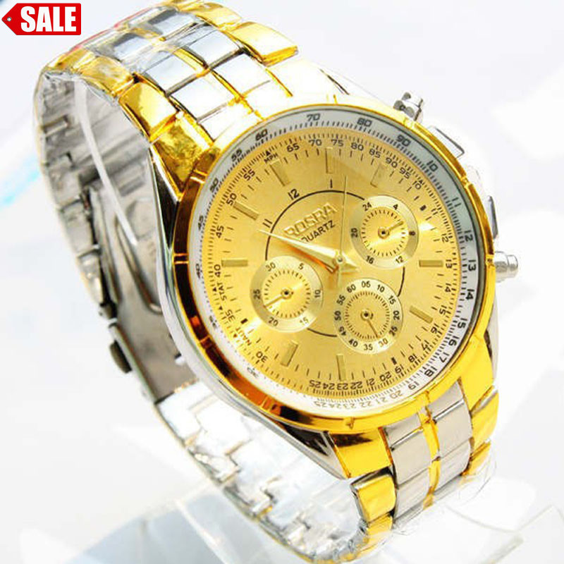 #5001 Mode Freizeit Kreative Mann Uhr Luxus Männer Römischen Ziffern Uhren Metall Analog Quarz Fashion Armbanduhr Bereitstellung Von Annehmlichkeiten FüR Die Menschen; Das Leben FüR Die BevöLkerung Einfacher Machen