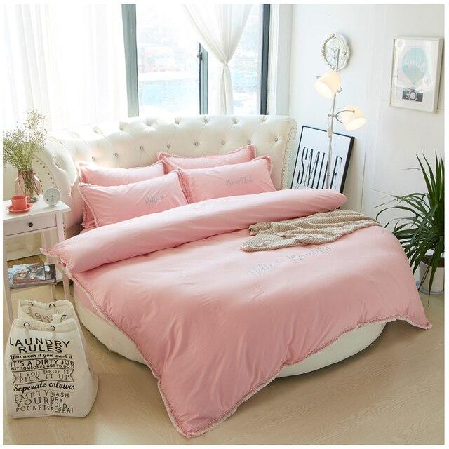 linge de maison lit rond Aliexpress.com: Acheter Fille rose hôtel textile de maison lit  linge de maison lit rond