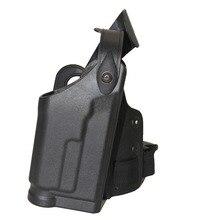Тактический Бедра Кобура Ipsc Свет Подшипник Для Пистолет HK USP Compact Охота Аксессуары Airsoft Падения Нога Кобуры