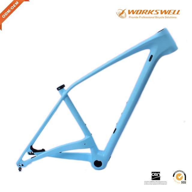 05c103a46 Boa qualidade mtb mountain bike bicicleta 29er quadro Azul cor da pintura mtb  quadro de carbono