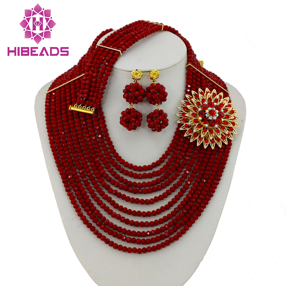 2017 Perfect Red African Crystal Beads Jewelry Set Nigerian Beads African Lace Fabric Wedding Jewelry Set Free Shipping GS0322017 Perfect Red African Crystal Beads Jewelry Set Nigerian Beads African Lace Fabric Wedding Jewelry Set Free Shipping GS032