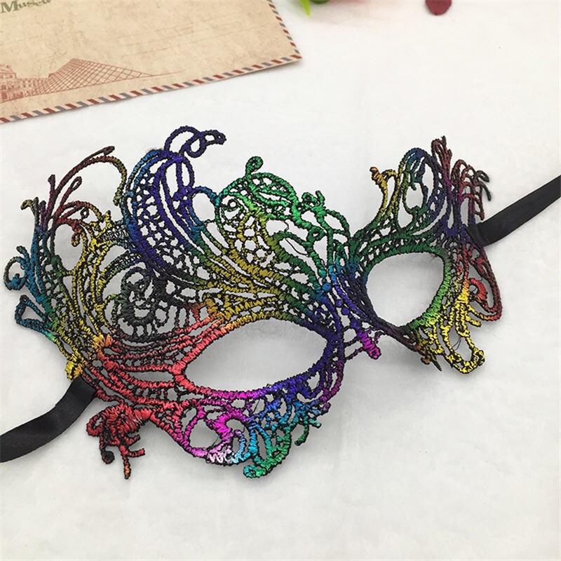 Феникс сексуальные кружевные маскарадные маски для карнавала, Хэллоуина, Вечерние Маски для лица, вечерние принадлежности #30