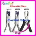Envío de la alta calidad gafas silhouette alicates marco sin montura de los alicates AB929 AB930 AB931