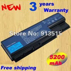 Batterie d'ordinateur portable pour ACER Aspire 5920 6920 6920G 7520 7720 Série AS07B31 AS07B32 AS07B41 AS07B51 AS07B71 AS07B72 Batterie