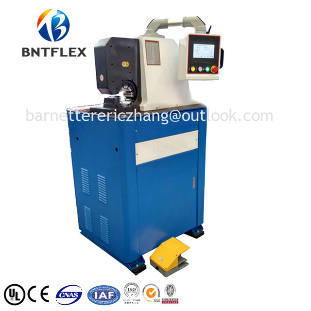 US $15000 0 |2017 BARNETT BNT83A CE 6 51mm 1/4'' 2'' 10 free dies finn  power air hose crimping machine/water hose-in Hydraulic Tools from Tools on