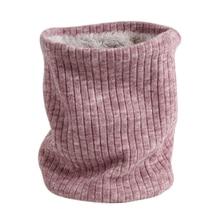 Модный шейный платок зимний шарф для женщин мужчин детей утолщенный шерстяной воротник шарфы унисекс Мужской Женский вязаный шарф