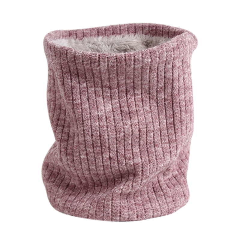 2019 Fashion Neckerchief Winter Scarf For Women Men Children Thickened Wool Collar Scarves Unisex Male Female Knitted Ring Scarf