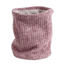 2019 Fashion Neckerchief Winter Scarf For Women Men Children Thickened Wool Coll