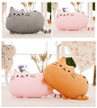 Kawaii Kids Toys Pusheen Cat Pillow Without PP Cotton Animal Brinquedos Doll Peluches Anime Plush Toys Cute Cushion 40*30CM