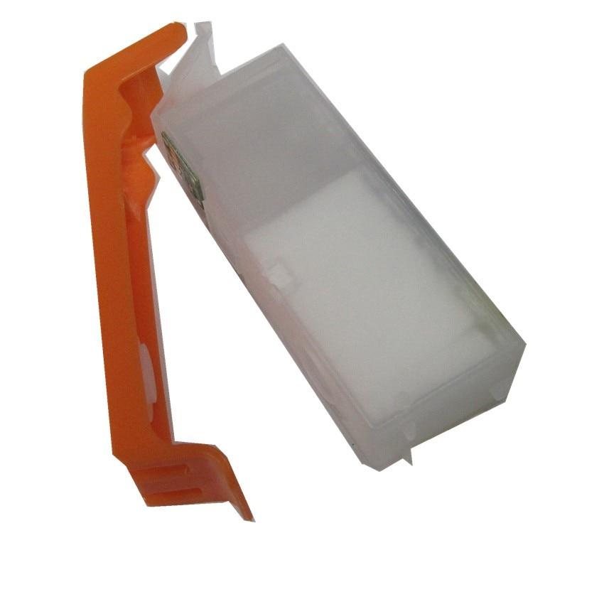PGI-570BK 570BK cartouche dencre rechargeable puce permanente pour canon PIXMA MG7750 MG5750 TS8050 TS5040 MG6850 TS6050 imprimante