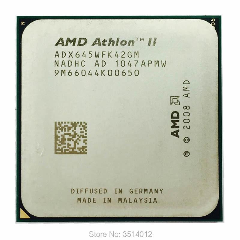 AMD Athlon II X4 645 3.1 GHz Quad-Core CPU Processor ADX645WFK42GM Socket AM3