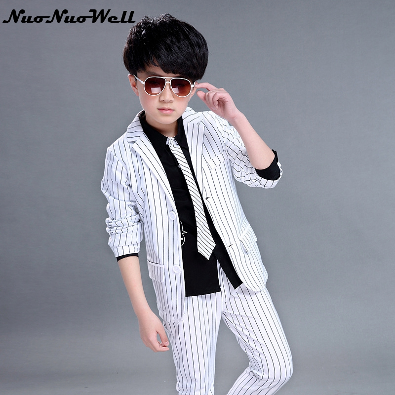 Children s Blazers Suit Wedding Suits Party Clothing Boys Dresses Teenager  Boys Gentle Suits Coat + Pant 2Pcs Kid Formal Sets-in Clothing Sets from  Mother ... b515d12b6646