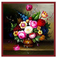Modern Needlework DIY DMC Cross stitch Sets For Embroidery kits Precise Printed oil painting vase 3D Counted Cross Stitching