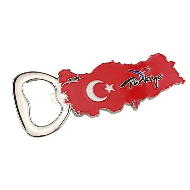 turkih with a bottle