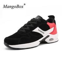 MangoBox Gym Shoes Men Spring Autumn Sport Running Shoes Men Black Trendy Sneakers For Mens Comfort