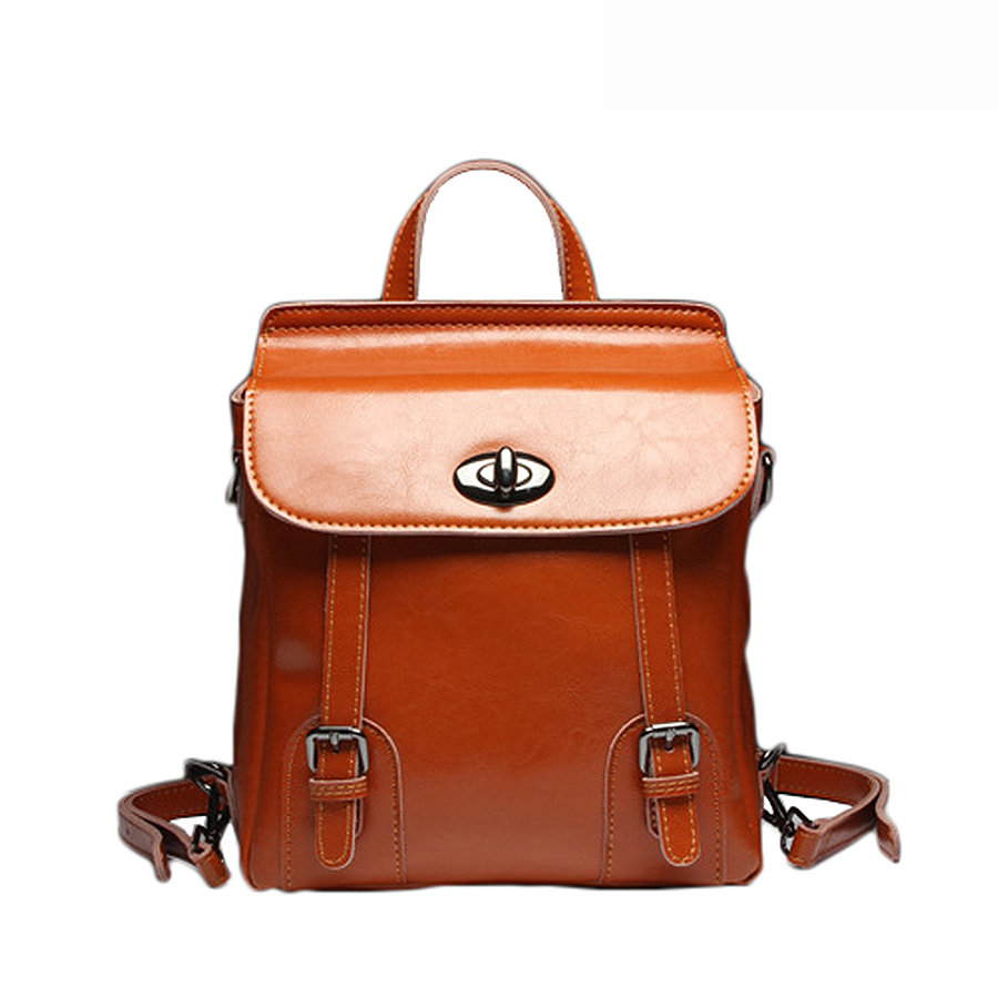 Luxury Genuine Leather Women Backpacks High Quality Leather Women Travel Backpack Brand Design Backpack Women School Bag FashionLuxury Genuine Leather Women Backpacks High Quality Leather Women Travel Backpack Brand Design Backpack Women School Bag Fashion