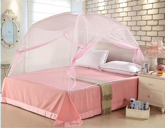 Mosquito Net For Double Bed Canopy Double Light Dome Canopy Klamboe Yurt  Purple Canopy Bed Curtains Free Standing Mosquito Net-in Mosquito Net from  Home ...