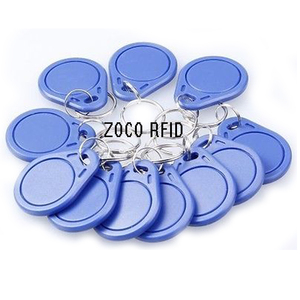 Image 2 - 10pcs/lot RFID hotel key fobs 125KHz rewritable keychain  and rewritable proximity ABS tags for RFID copier