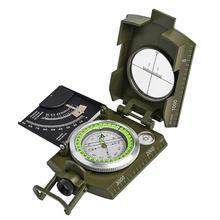 Складной мини световой компас Открытый Кемпинг Туризм Геологическая приборная панель