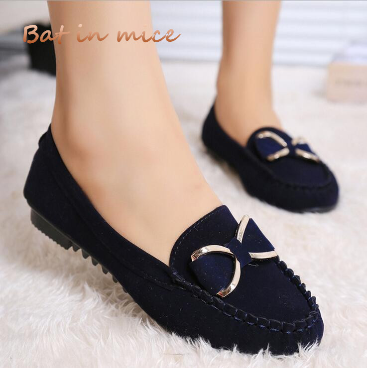 casual shoes Fashion Spring summer mother Women cozy Flats Shoes Non-slip Ladies rosette Women Shoes zapatos Plus Size 35-40 C02 new 2017 spring summer women shoes pointed toe high quality brand fashion womens flats ladies plus size 41 sweet flock t179