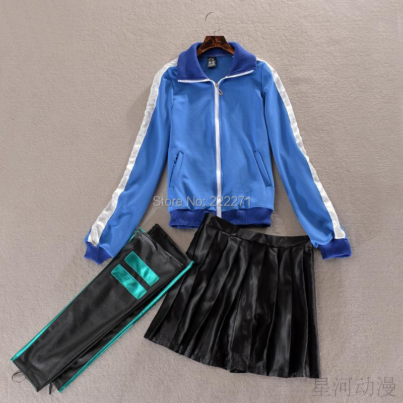 Kagerou Project MekakuCity Actors Enomoto Takane Ene Cosplay Costume Dress Skirt font b Legging b font