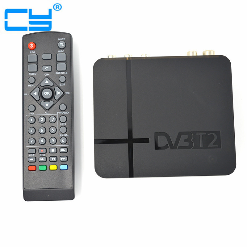 K2 HD DVB-T2 Digital Terrestrial Receiver Set-top Box with Multimedia Player H.264/MPEG-2/4 Compatible with DVB-T for TV HDTV dvb t2 car 180 200km h digital car tv tuner 4 antenna 4 mobility chip dvb t2 car tv receiver box dvbt2