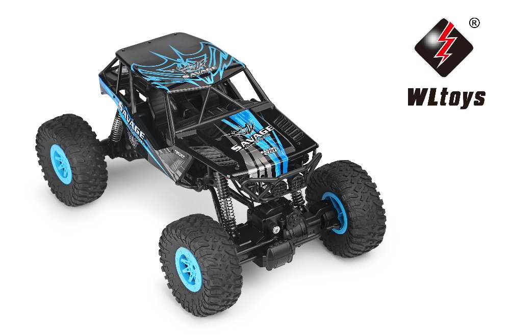 RC Car Remote Control 2.4G 4WD Climbing Rock Crawler Model Off-Road Vehicle Wltoys 10428-D/E 1:10 Electric Toy 25KM/H