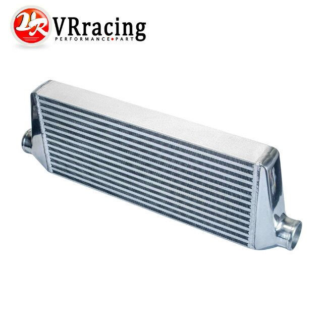 VR RACING - 550*230*65mm Universal Turbo Intercooler bar&plate OD=2.5 Front Mount intercooler VR-IN813-25 31x12x3 inch universal turbo fmic intercooler 3 inch piping kit toyota supra mkiii mk3 7mgte