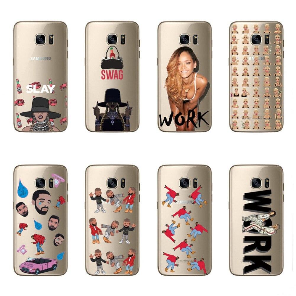 Телефон чехлы для <font><b>samsung</b></font> Galaxy J7 2016 J710 пикантные Красота девочек Рианна темно-Дизайн мягкий чехол для J710 2016 принципиально кожи Coque