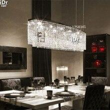 k9 Crystal LED Chandelier Light Fixture Crystal Light Lustre Hanging Suspension Light for Dining Room, Foyer, Stairs